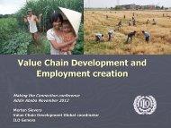 Download the presentation (Merten Sievers, ILO Geneva)