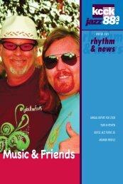 Music & Friends rhythm & news - Kcck