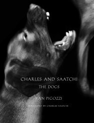 Charles Saatchi –My Life as a Dog