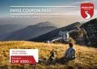 STC Swiss Coupon Pass 2021 EN