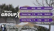 Winter Break Group X 2020