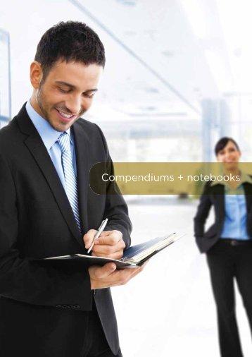 Compendiums + notebooks - CJ Diffusion