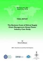 The Business Costs of Ethical Supply Chain Management - Natural ...