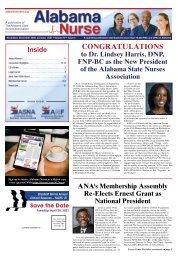 Alabama Nurse - November 2020
