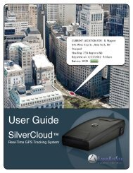 User Guide - GPS Tracking
