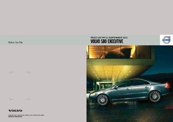 price list my'12 - Volvo