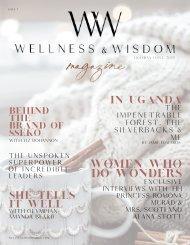 Wellness & Wisdom Magazine~ The Holiday Issue 2020