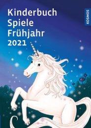 KOSMOS Kinder- & Jugendbuch Spiele Frühjahr 2021