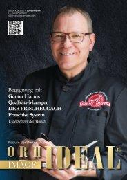 Gunter Harms DER FRISCHECOACH im Orhideal IMAGE Magazin Dezember 2020