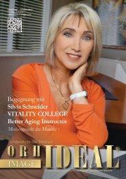Silvia Schneider VITALITY COLLEGE im Orhideal IMAGE Magazin Januar 2021