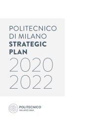 Politecnico di Milano - Strategic Plan 2020-2022