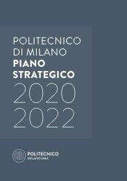 Politecnico di Milano - Piano Strategico 2020-2022