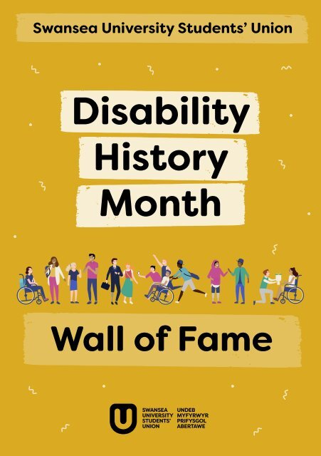 Disability History Month Wall of Fame