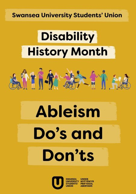 Disability History Month: Ableism Do's and Don'ts