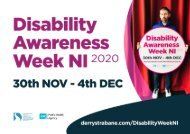 Disability Week NI 2020