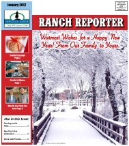 Warmest Wishes for a Happy New Year! From Our ... - Heritage Ranch