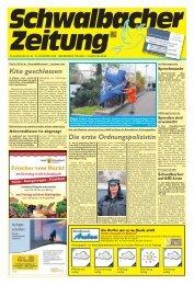 Schwalbacher Zeitung Ausgabe Kw 48-2020