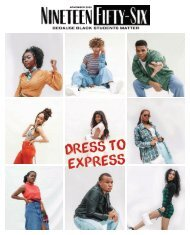 Nineteen Fifty-Six Vol. 1 No. 3 Dress to Express