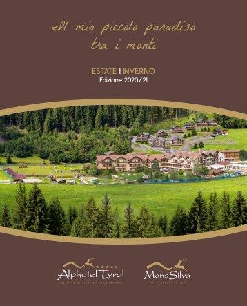 Alphotel Tyrol - Prospekt 2020-21ital