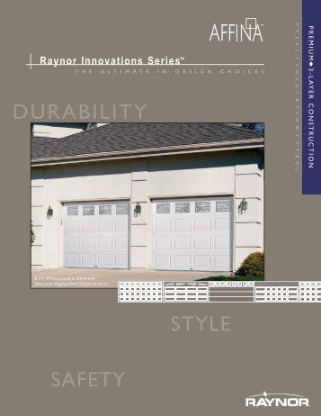 Affina Features - Raynor Door