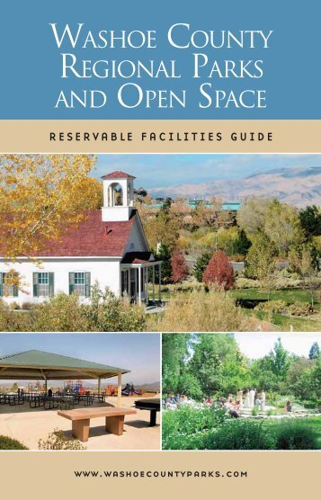 reservable facilities guide - Washoe County, Nevada