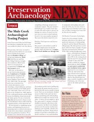 NEWS - The Center for Desert Archaeology - Southwest...
