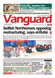 25112020 - Selfish Northerners opposing restructuring, says el-Rufai