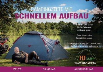 Campingzelte mit schnellem aufbau