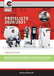 CATTANI Lieferprogramm 2020 mit Preisen