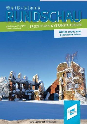 Weiß-blaue Rundschau Winter 2020/2021