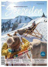 Seeseiten – das Magazin für die Region Tegernsee, Nr. 63, Ausgabe Winter 2020/21