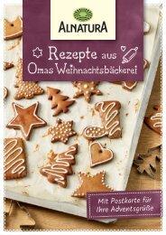 Rezepte aus Omas Weihnachtsbäckerei