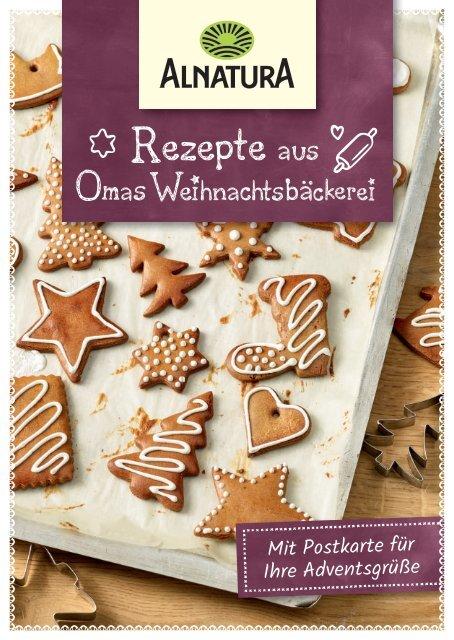 Rezepte aus Omas Weihnachts bäckerei