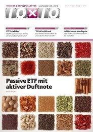 Passive ETF mit aktiver Duftnote - 10x10
