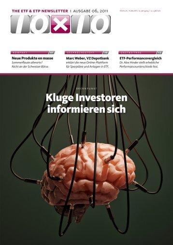 the etf & etp newsletter - 10x10