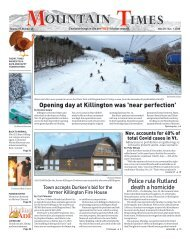 Mountain Times - Volume 49, Number 48 - Nov. 25- Dec. 2, 2020