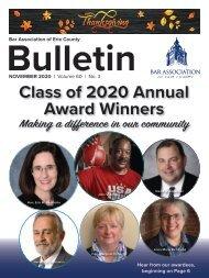 BAEC November 2020 Bulletin