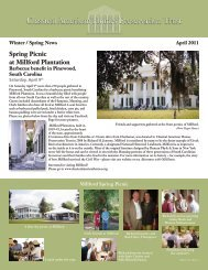 Spring Picnic at Millford Plantation - Classical American Homes ...