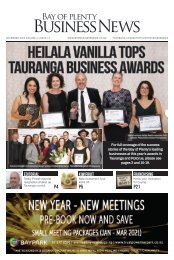 Dec 2020 - Bay of Plenty Business News