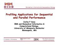 Profiling Applications for Sequential and Parallel Performance
