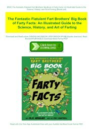 [PDF] The Fantastic Flatulent Fart Brothers' Big Book of Farty Facts: An