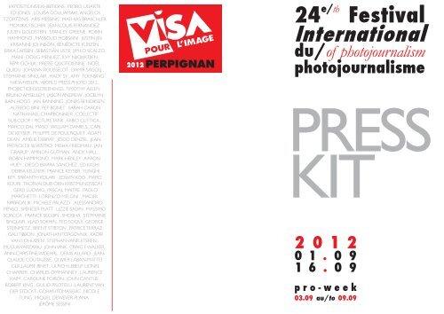 Visa Pour L Image 2e Bureau
