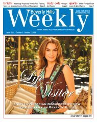 Call (323) - Beverly Hills Weekly