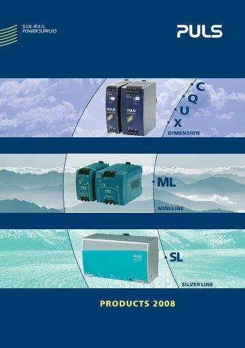 1-Phase-Power Supplies 60-120W - PULS GmbH