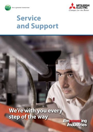 Service and Support - System Service - Mitsubishi Electric