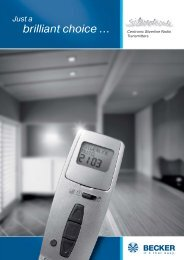 Broschur Silverline GB:Layout 1 - Becker-Antriebe