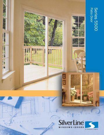 SL-1314 Sell Sheet 5500 Outside 3-07.AI - Wilke Window & Door