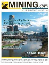 The Coal Issue - MINING.com Magazine