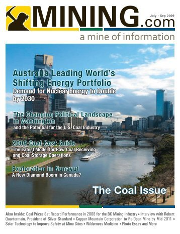 The Coal Issue - MINING.com Magazine