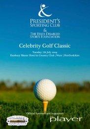 Celebrity Golf Classic - Presidents Sporting Club